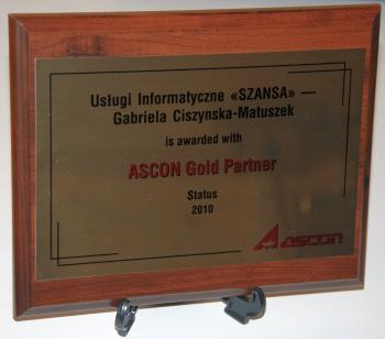 Ascon Gold partner